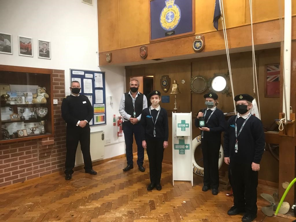 Defend+ Sea Cadets Press Release